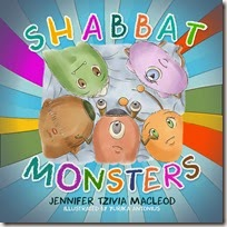 Shabbat Monsters, by Jennifer Tzivia MacLeod